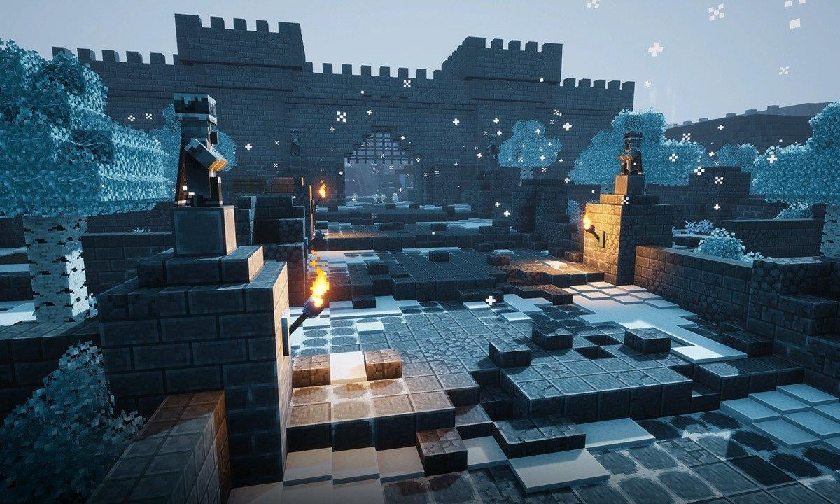 Minecraft Dungeons's Creeping Winter DLC Plans To Add A Variety Of Mobs