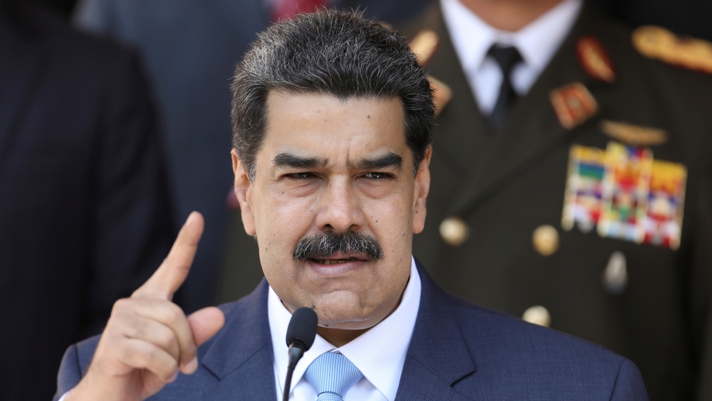 Venezuela's Maduro says US spy captured near oil refineries