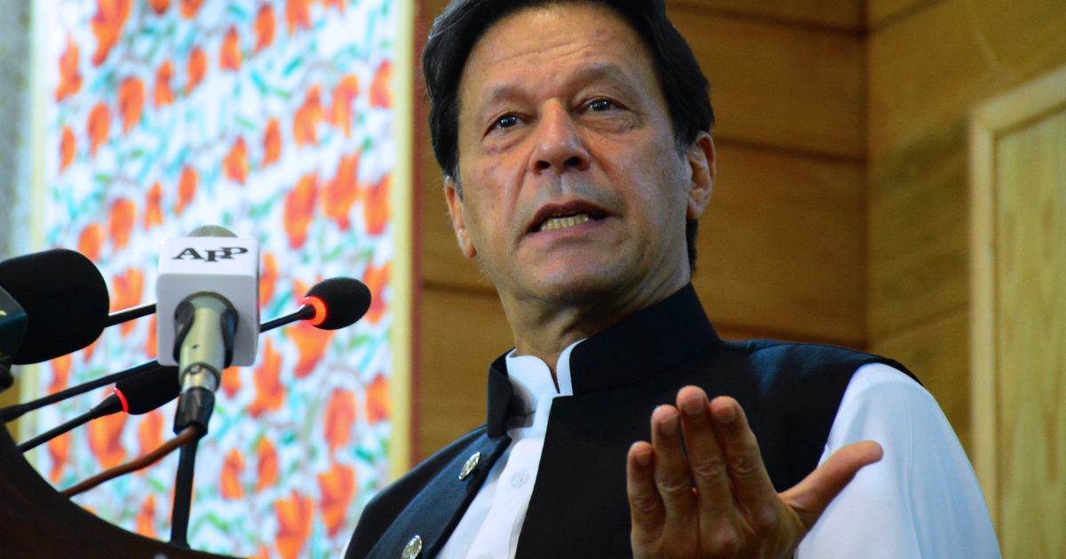 Pakistan's Khan accuses rival Sharif of 'playing India's game'