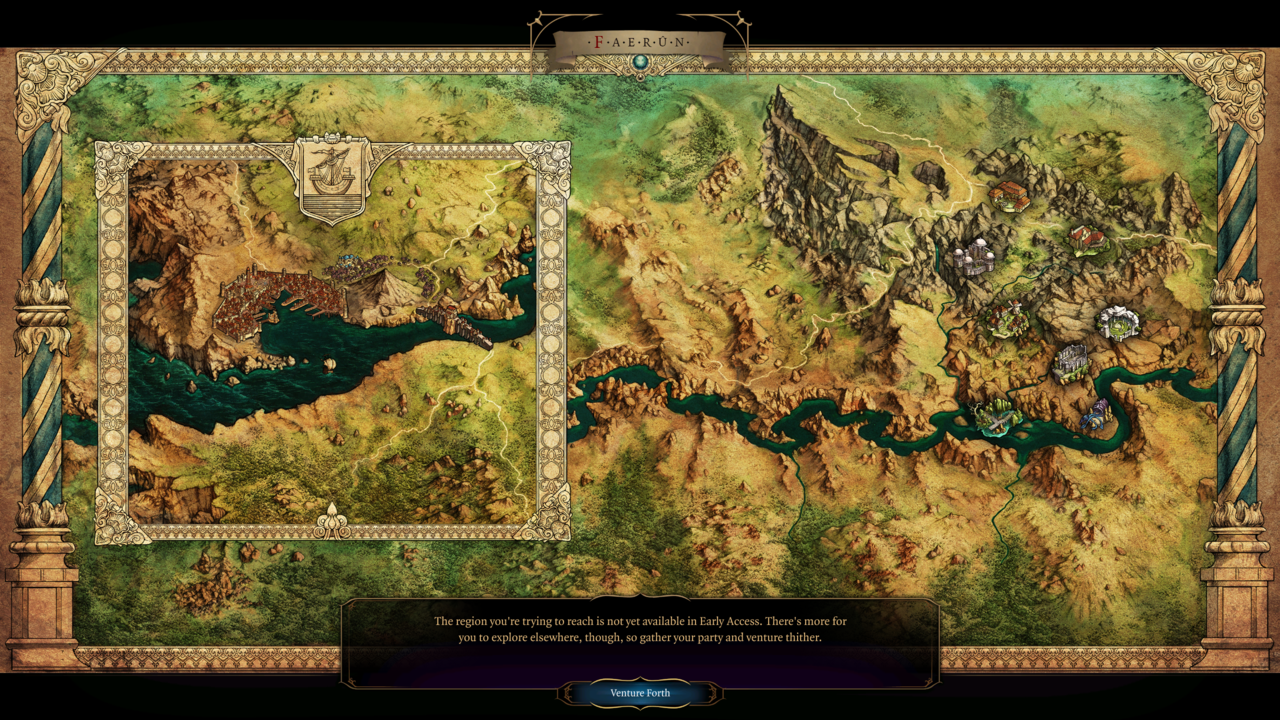 Baldur's Gate 3's Map Is Already Big In Early Access