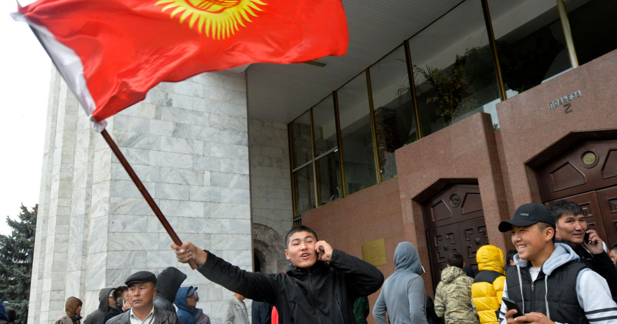 'One killed' amid protests as political crisis grips Kyrgyzstan