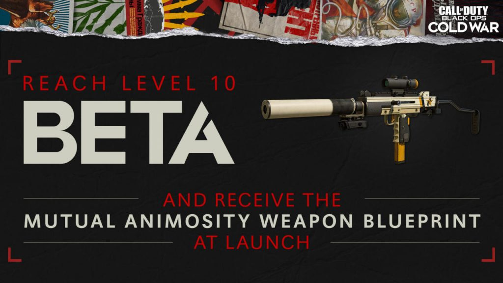Any player on any platform will get this gun when they reach level 10.