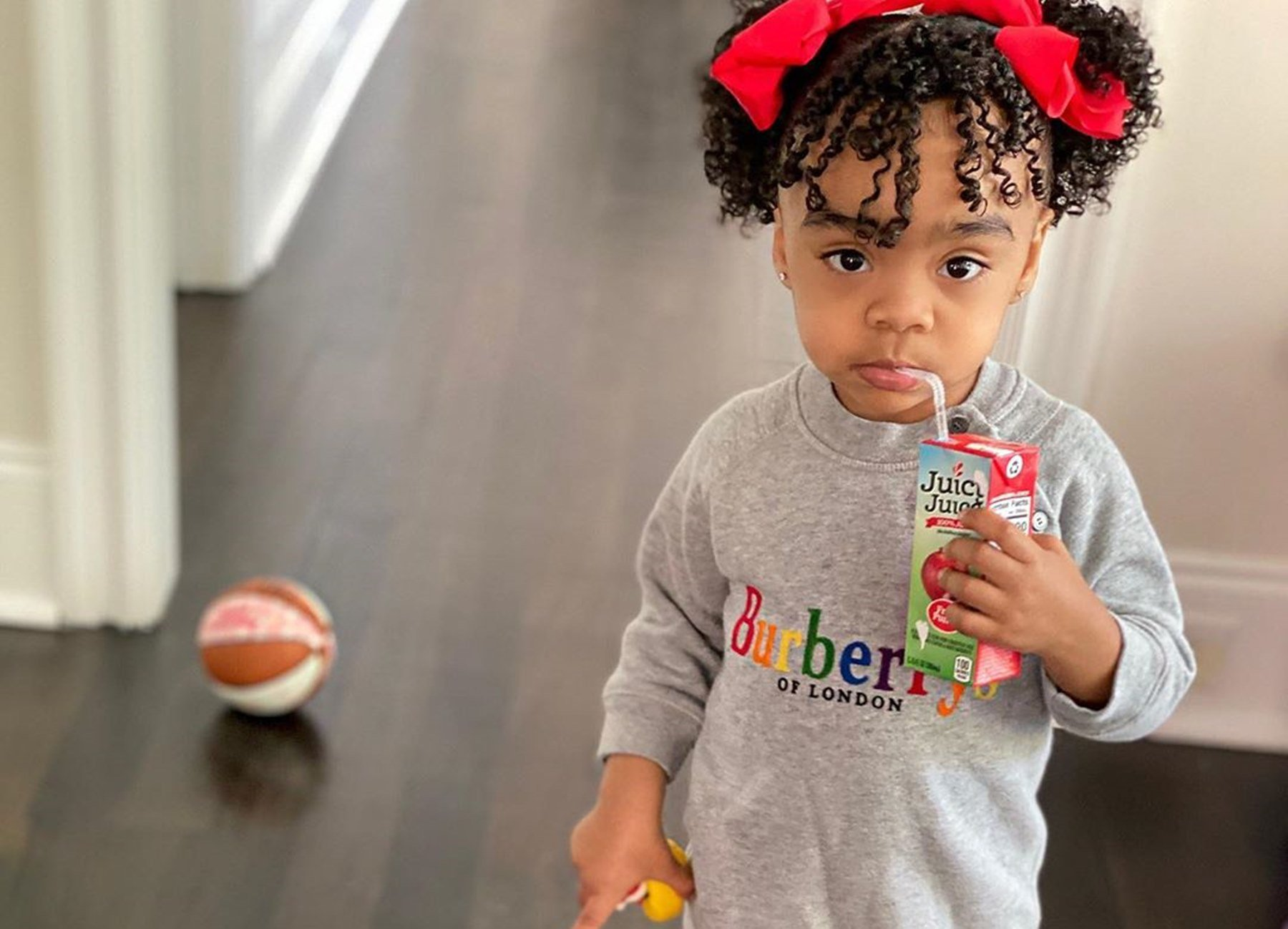 Toya Johnson's Video Featuring Baby Girl Reign Rushing And Her Dad, Robert Rushing Will Make Your Day