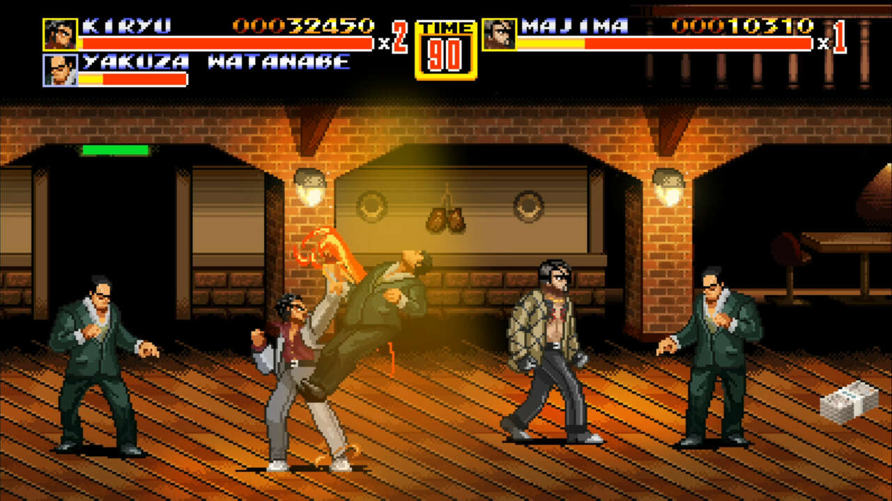Get This Yakuza And Streets Of Rage Crossover For Free Before It's Gone