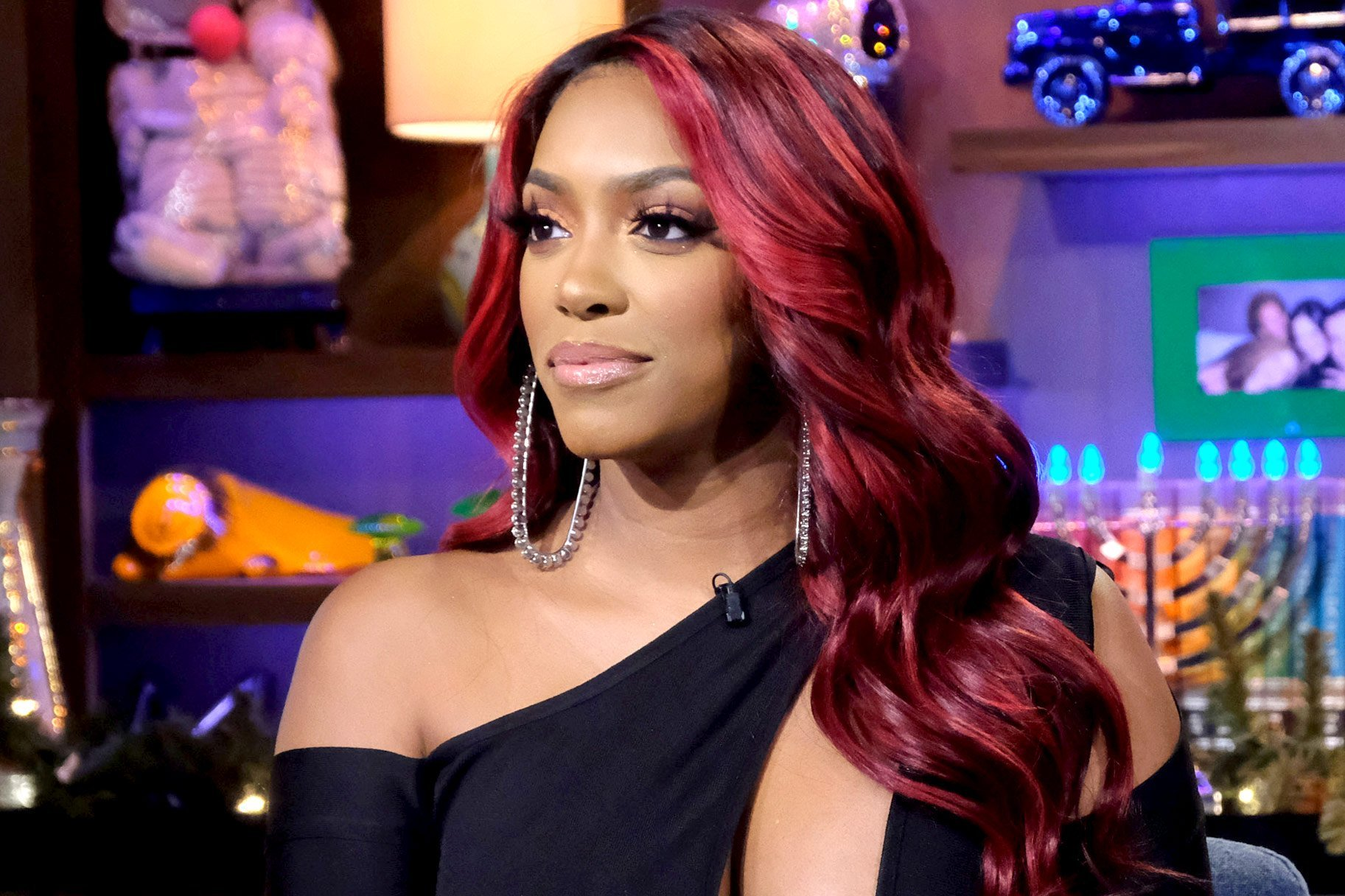Porsha Williams Looks Gorgeous As A Redhead During The Latest Bravo Chatroom