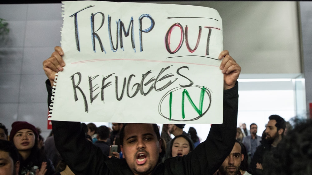 Advocates condemn Trump's 'tragically low' planned US refugee cap