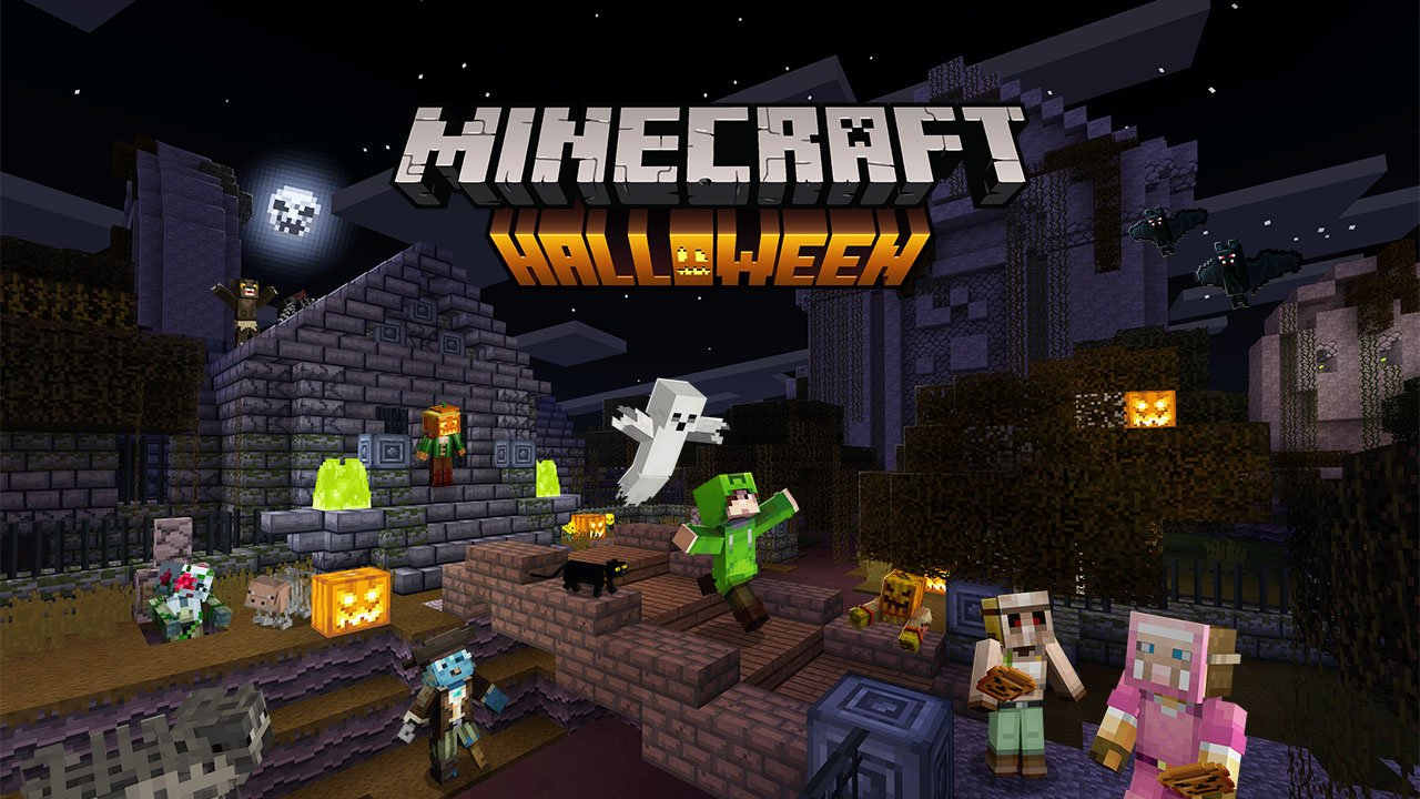 Minecraft Celebrates Halloween With Spooky Masks, Scary Limited Time Content For Minecraft And More!