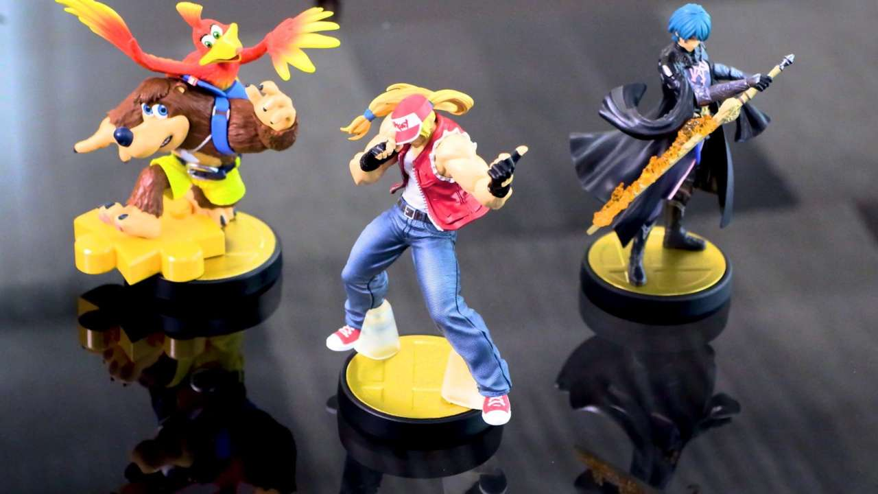 New Super Smash Bros. Ultimate Amiibo Figures Launch Next Year