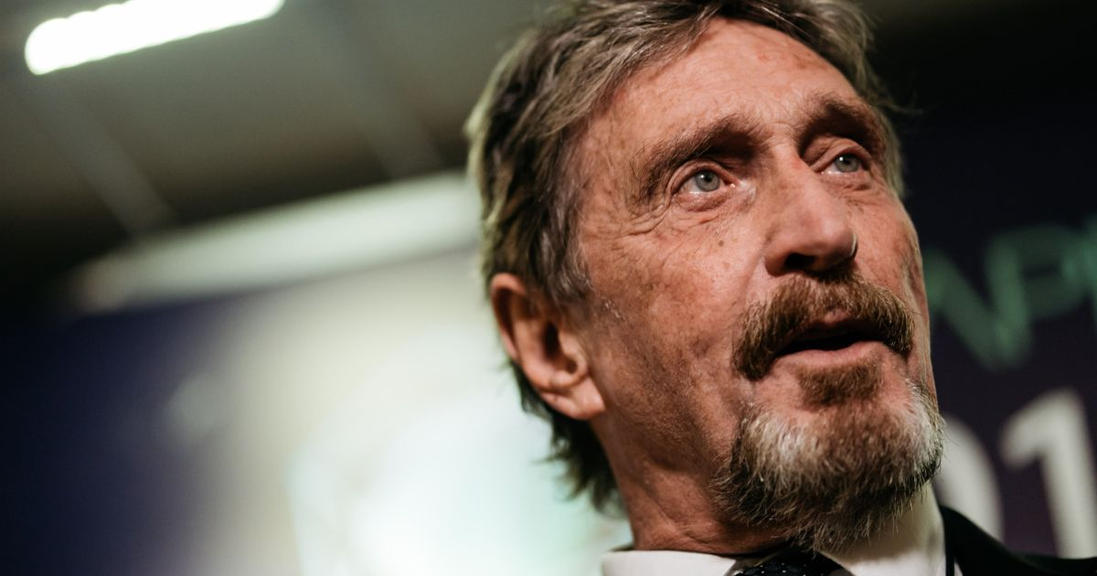 Anti-virus software pioneer McAfee arrested for US tax evasion