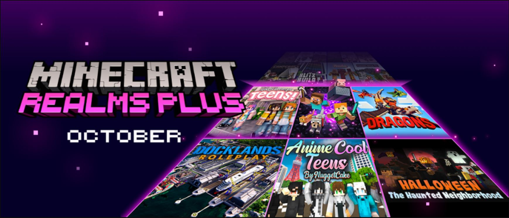 Minecraft Java Realms (October) : Want To Ride With Dragons Or Play On A Yacht Then These New Additions Are Perfect!