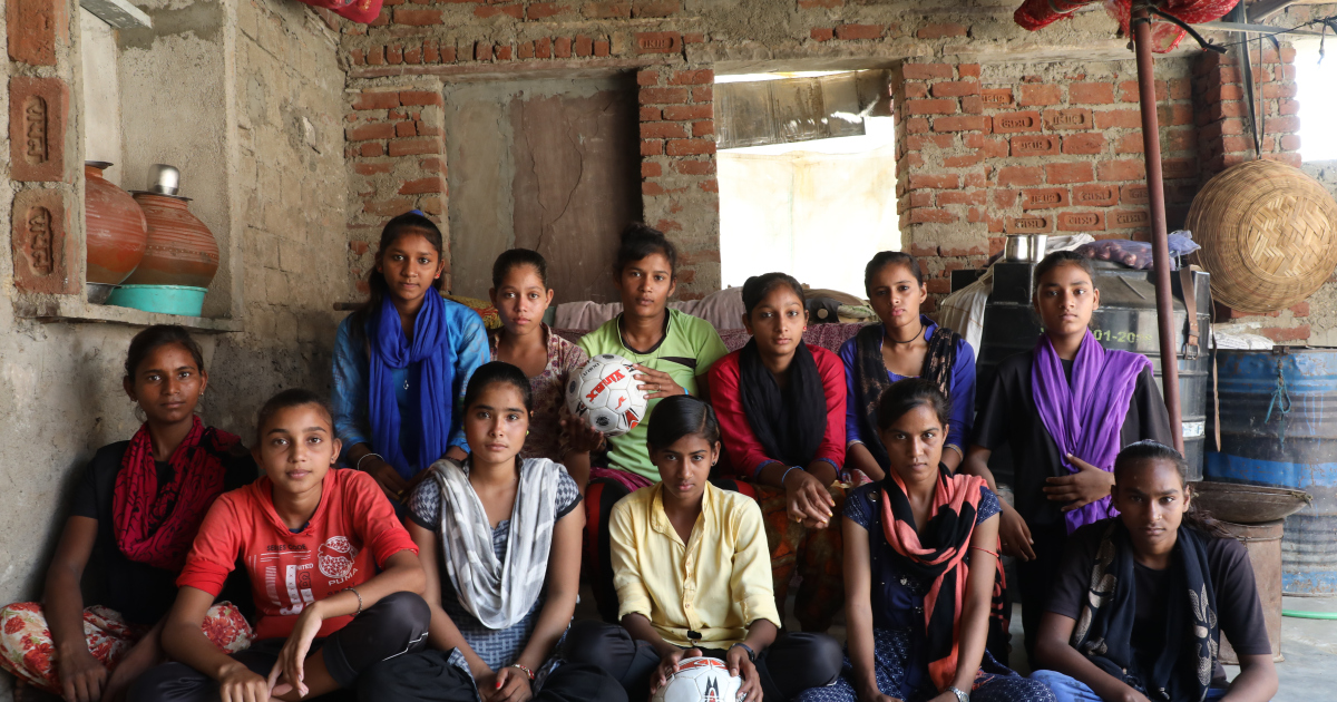 Girls from India's villages 'break gender barrier' with football