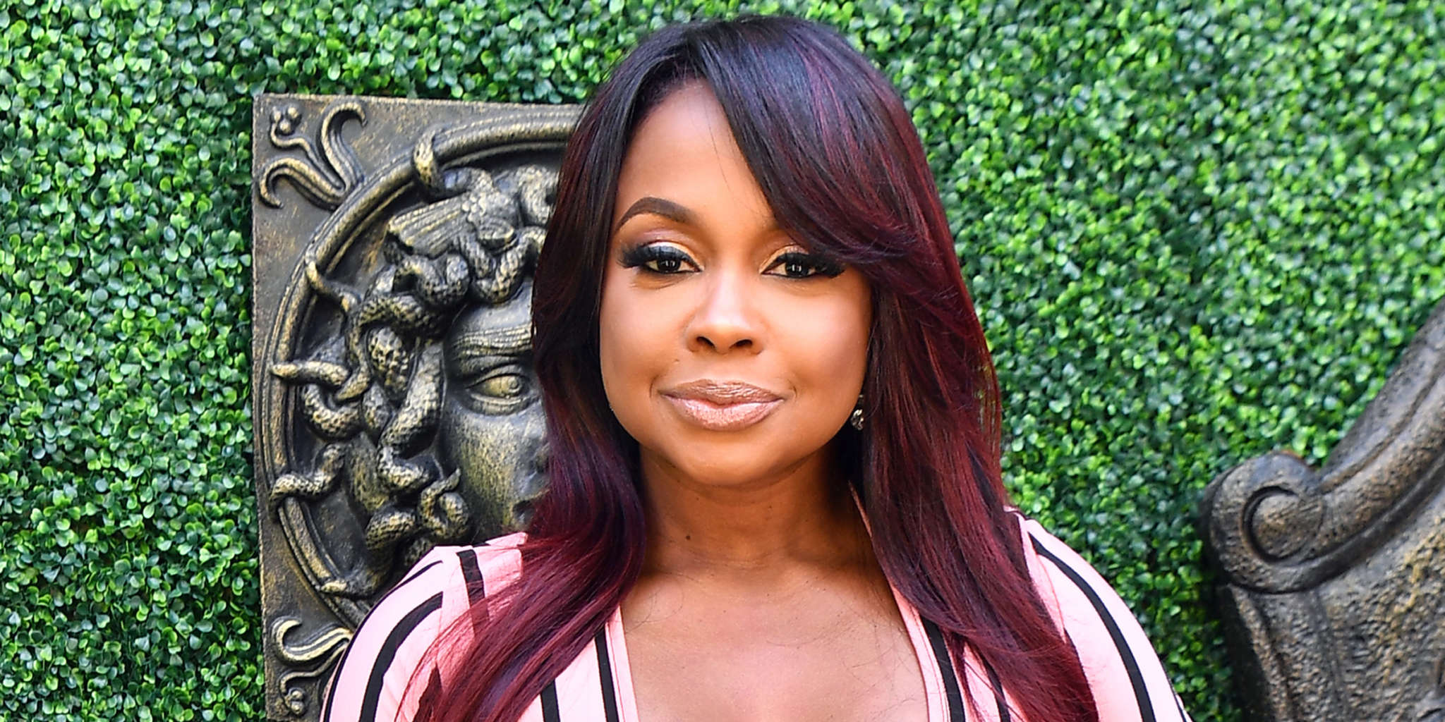 Phaedra Parks Shows Off Her Best Assets In A Black Outfit – See Her Curves