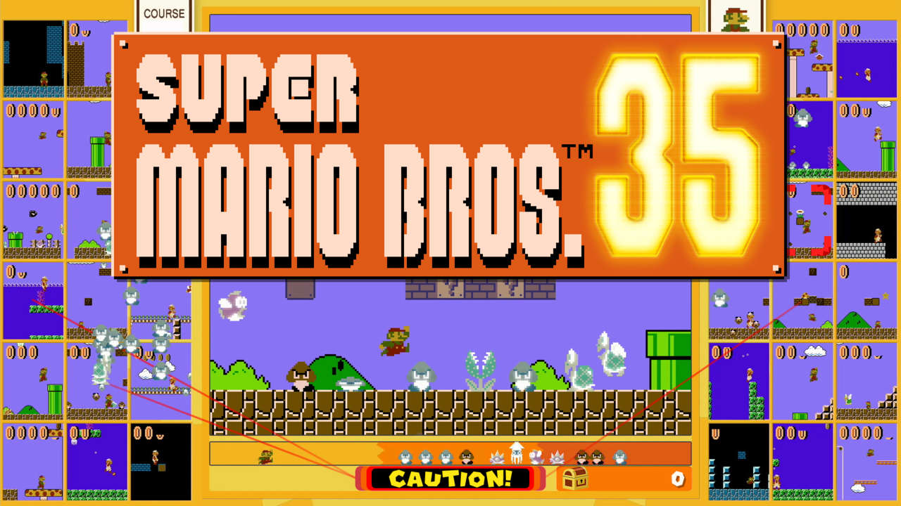 Super Mario Bros. 35 Kicks Off A New Limited-Time Event