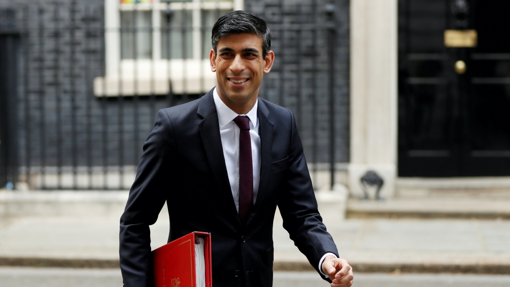 Jobs, not tax hikes: UK's Sunak lays out priorities for economy