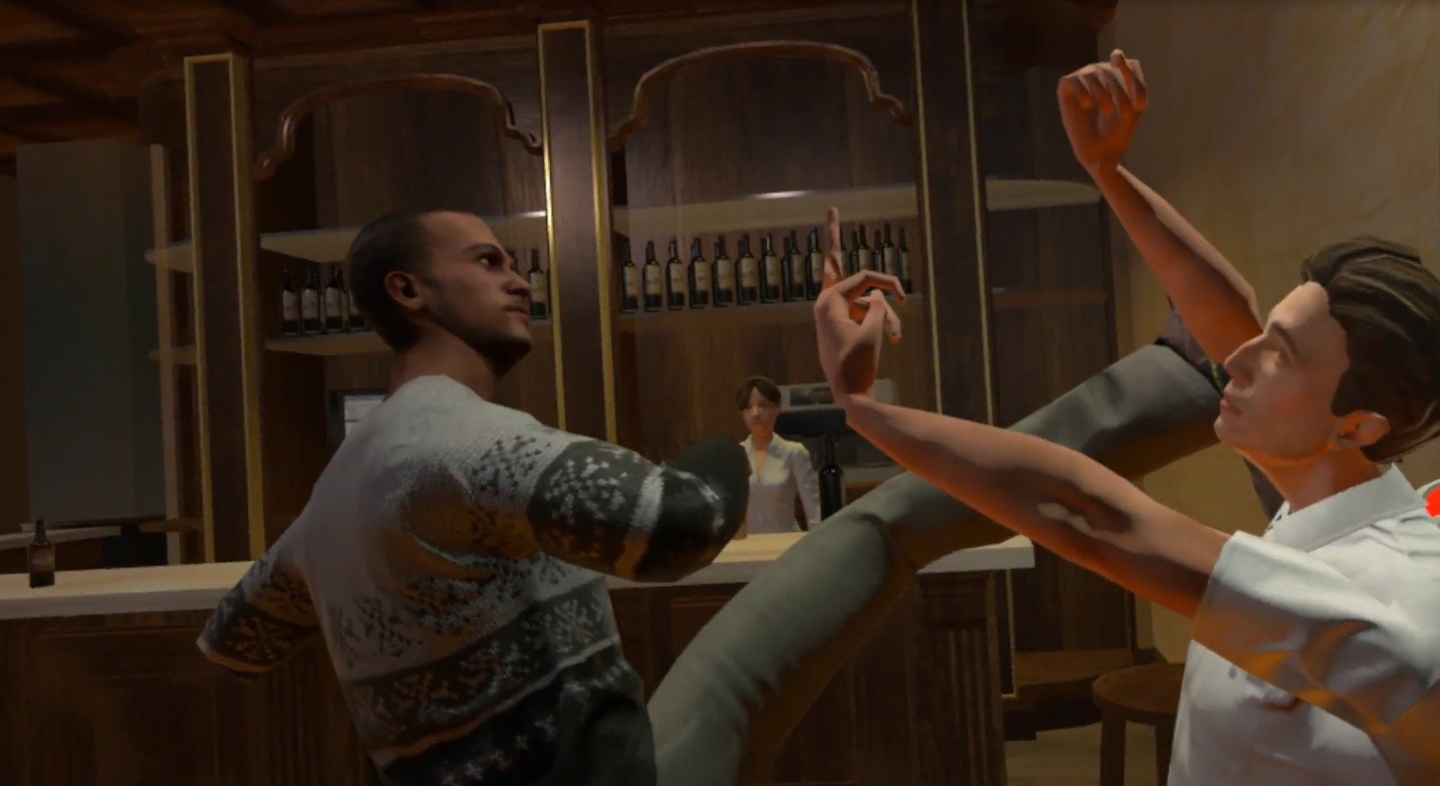 Drunkn Bar Fight Is Looking At A Physical Release In Europe For A Unique Fighting VR Experience