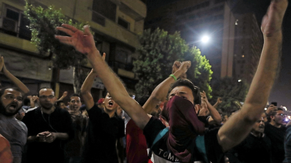 Amnesty urges Egypt to release detainees after rare protests
