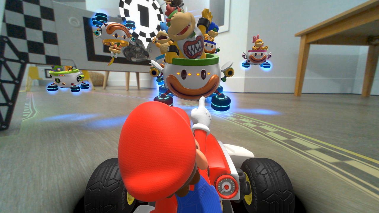 Here's How Mario Kart Live: Home Circuit Works