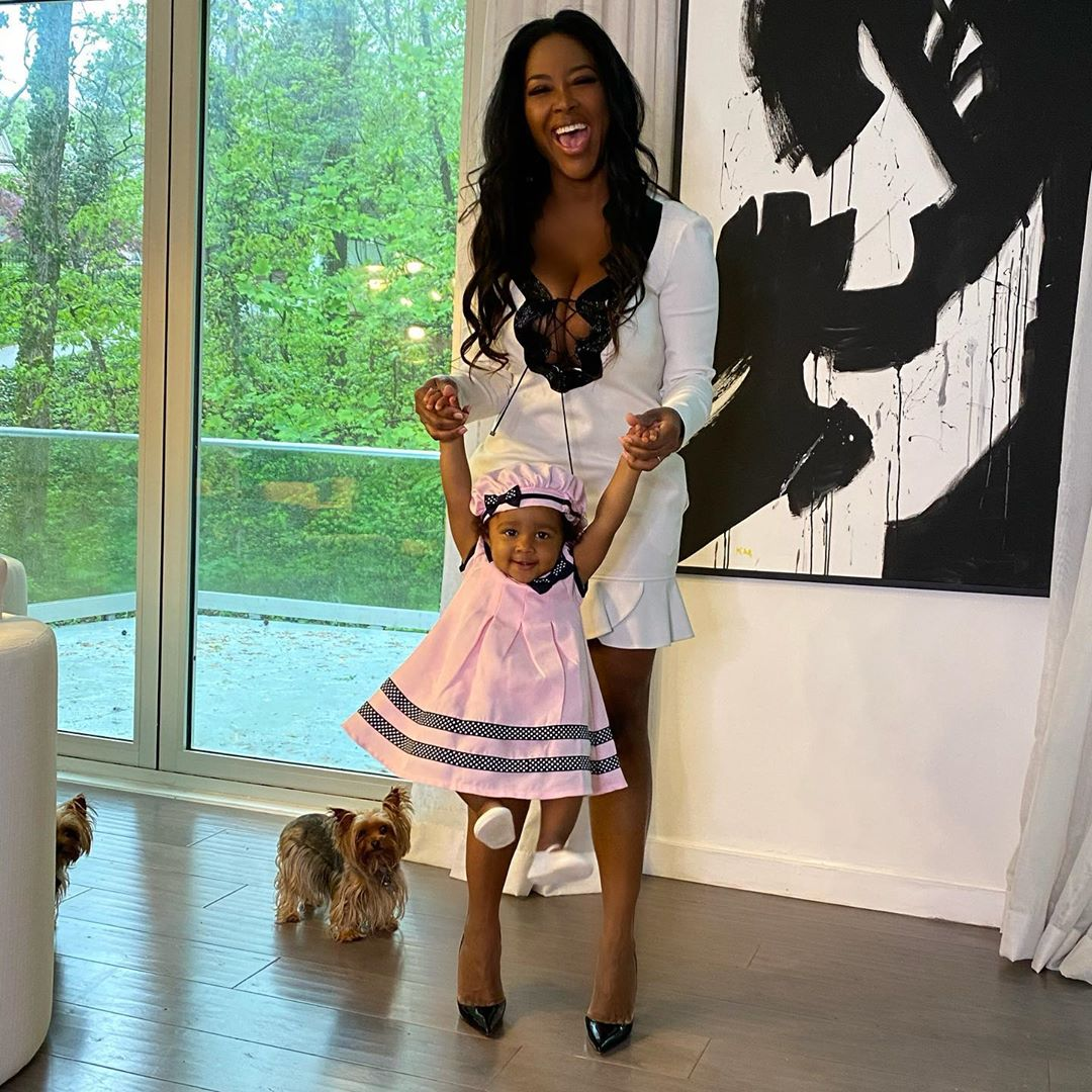 When Kenya Moore's Baby Girl Smiles, The Whole World Is Smiling – See Brookie's Video