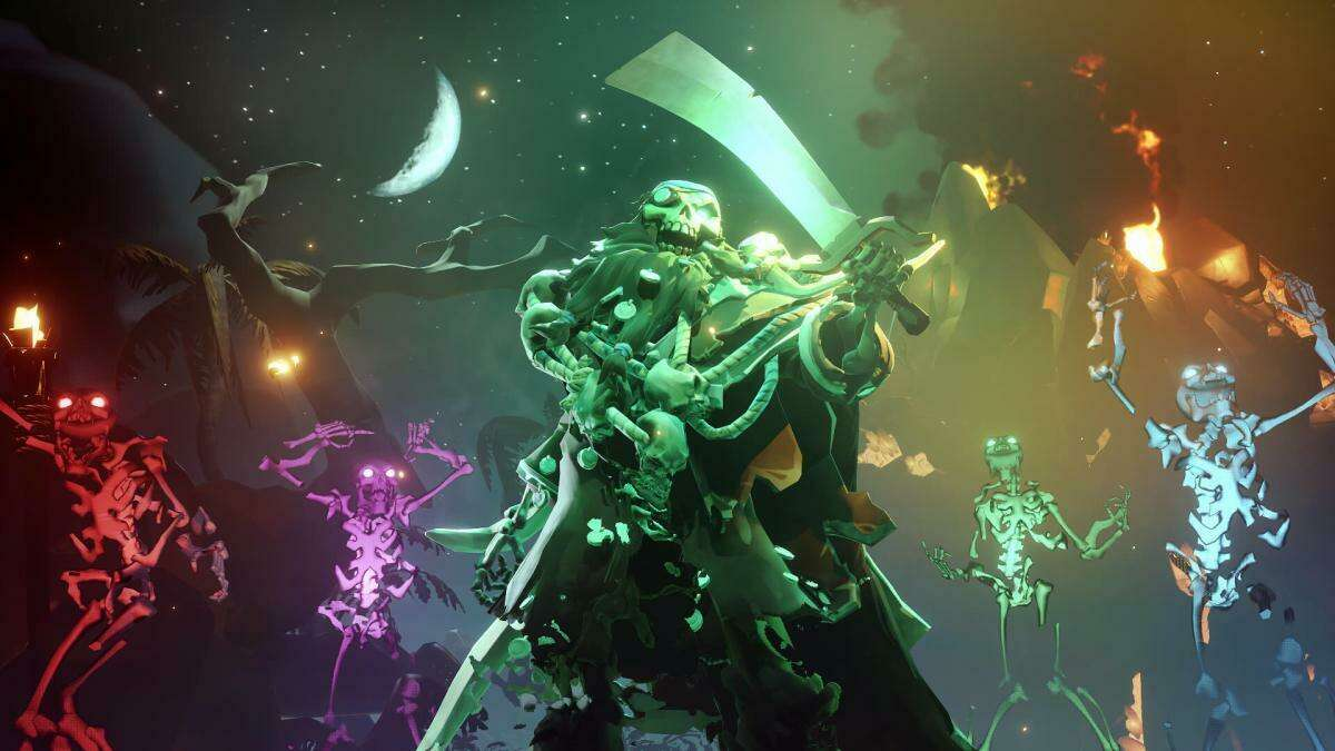 Sea Of Thieves Fate Of The Damned Update Now Live