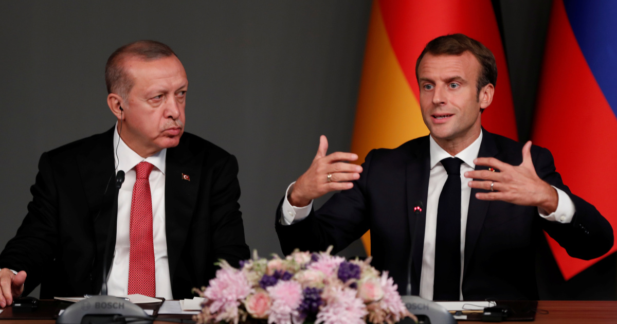 Erdogan decries Macron's plan against 'Islamist separatism'