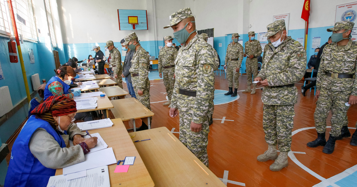Protests in Kyrgyzstan over alleged vote rigging