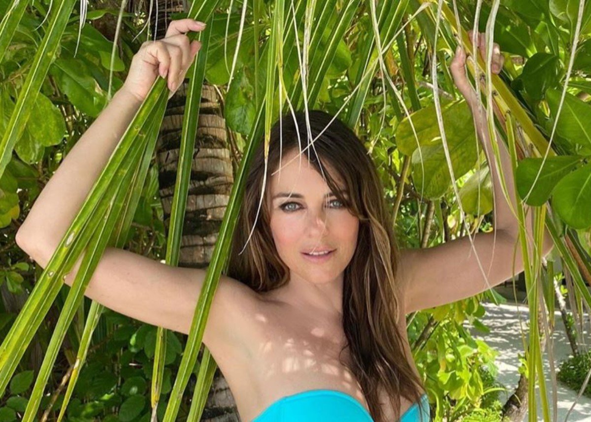 Elizabeth Hurley Puts Her Unbelievable Beach Body On Display — How Can She Be 55?