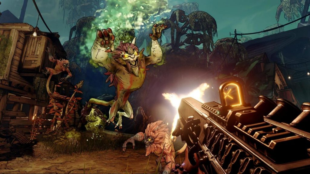 There was a larger variety of guns in Borderlands 3, many of which blended different archetypes to make some bizarre weapons.