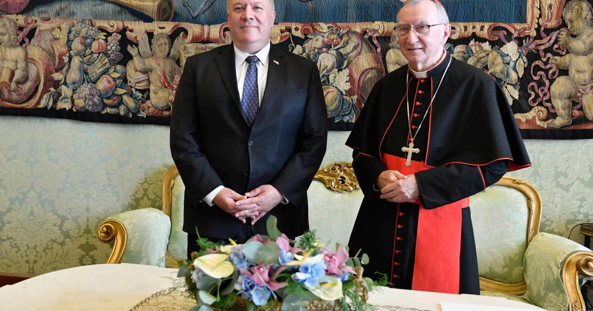 US, Vatican clash over China as Pompeo urges harsher stance