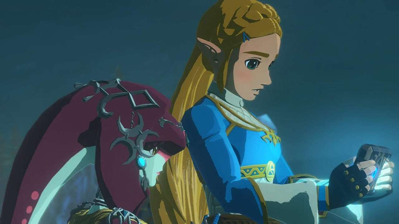 Hyrule Warriors: Age Of Calamity Has Very Similar Map To Zelda: Breath Of The Wild's