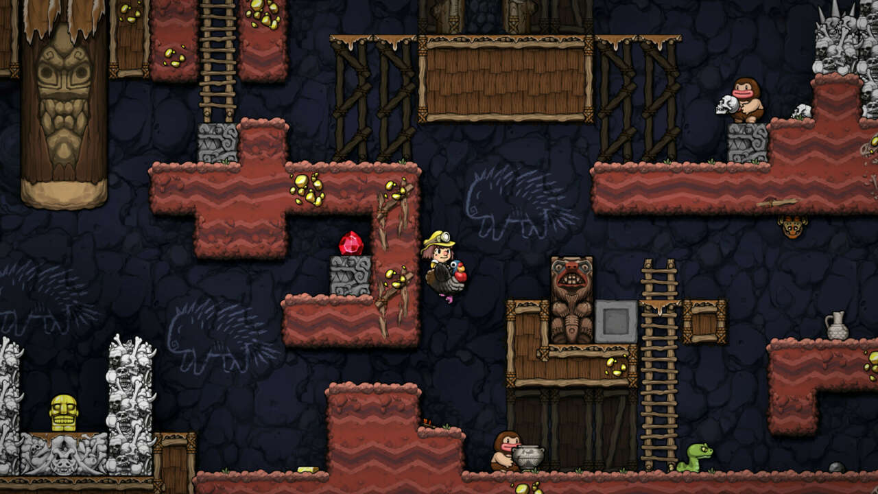 Spelunky 2 Has Been Patched To Make The First Area Slightly Easier