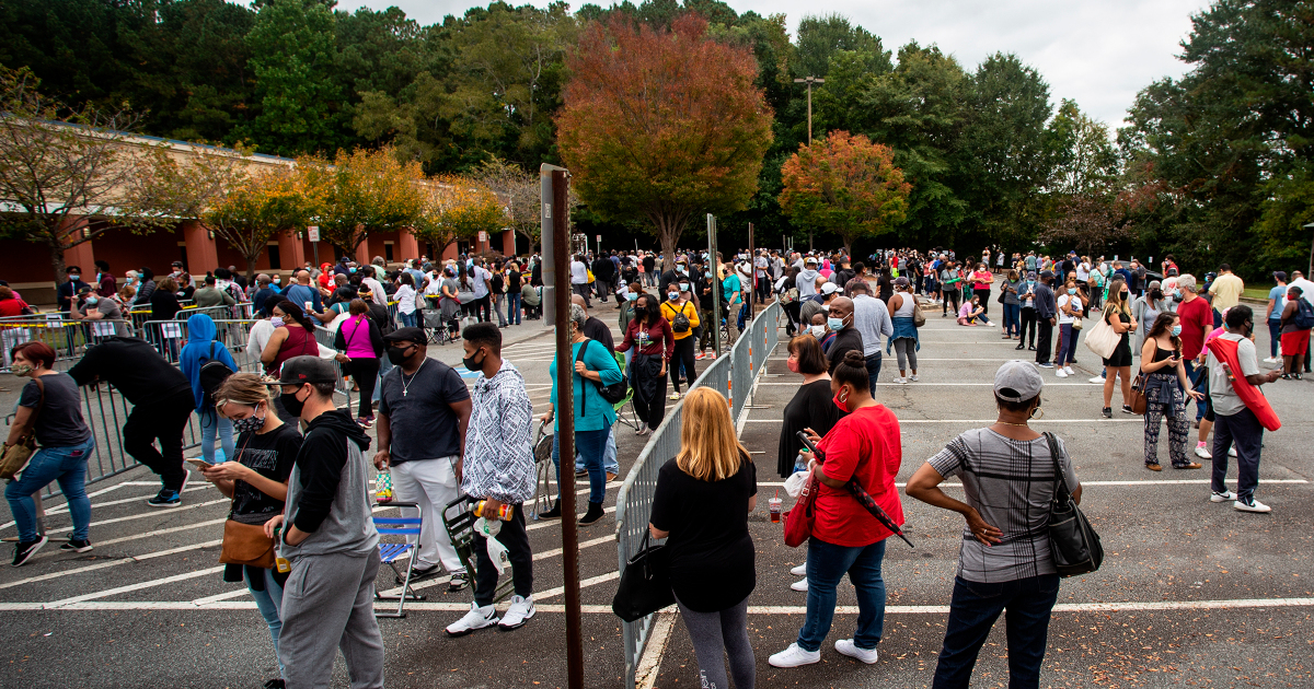 US elections: Long lines underscore multiple barriers to voting