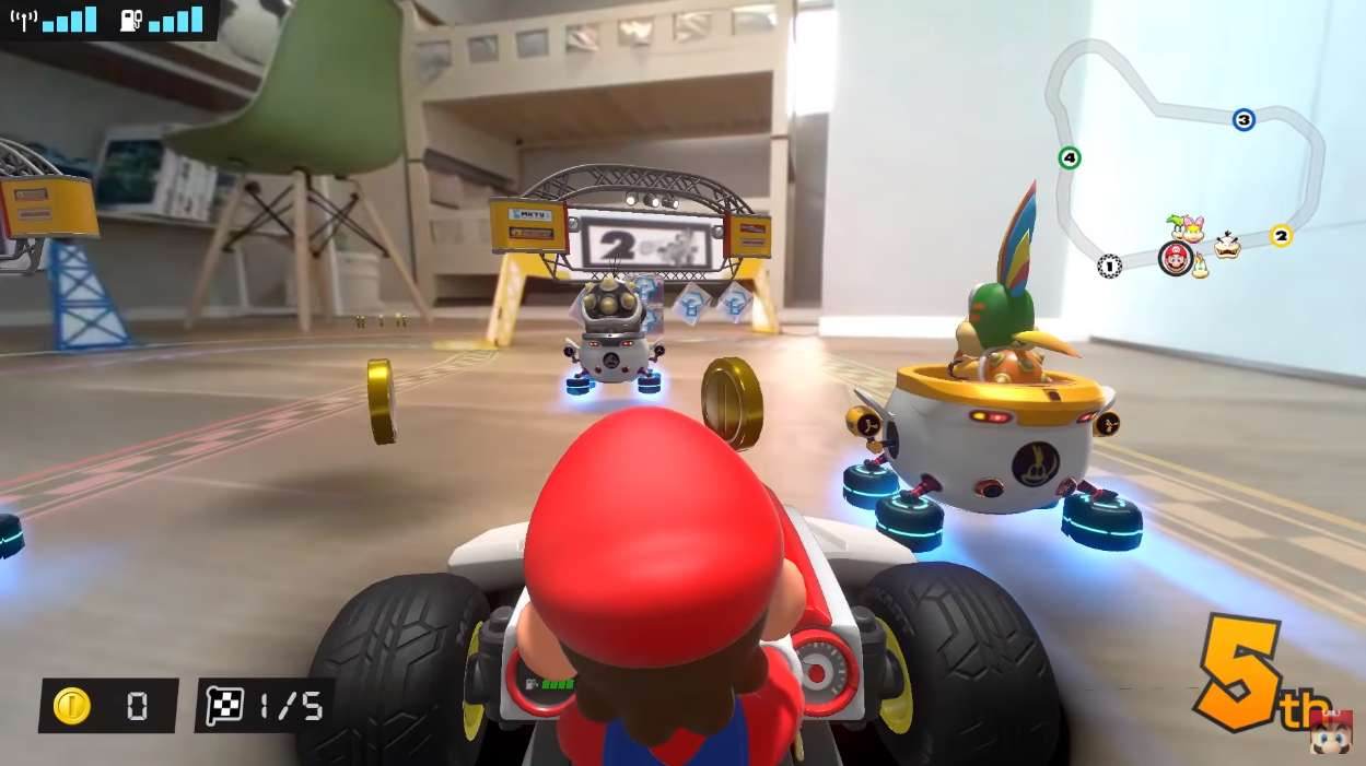 Mario Kart Live: Home Circuit Overview Trailer Explains How The Game Works