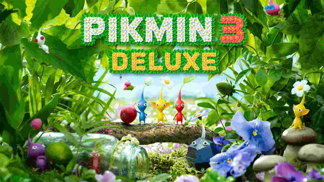 New Pikmin 3 Deluxe Trailer Introduces Adorable Plant-like Pikmin