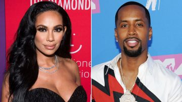 Safaree Praises His Gorgeous Wife, Erica Mena – See The Message And Pic He Shared