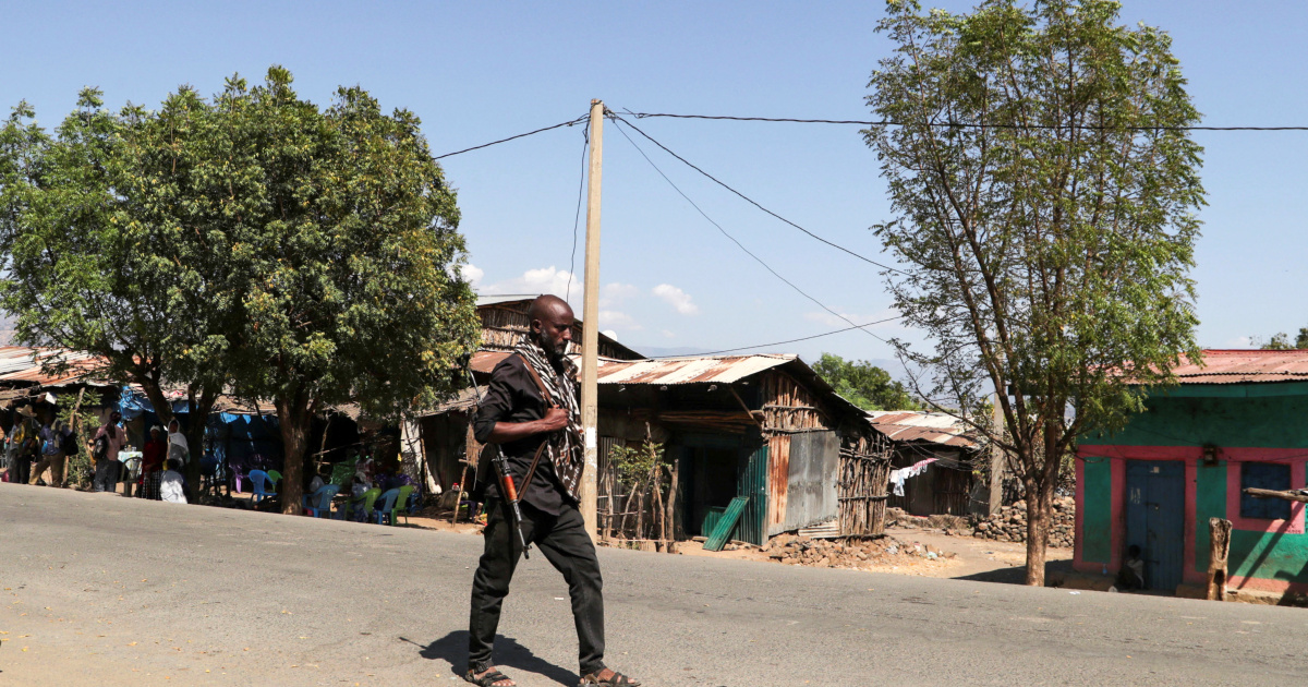 Ethiopia says Tigray forces fired into neighbouring region