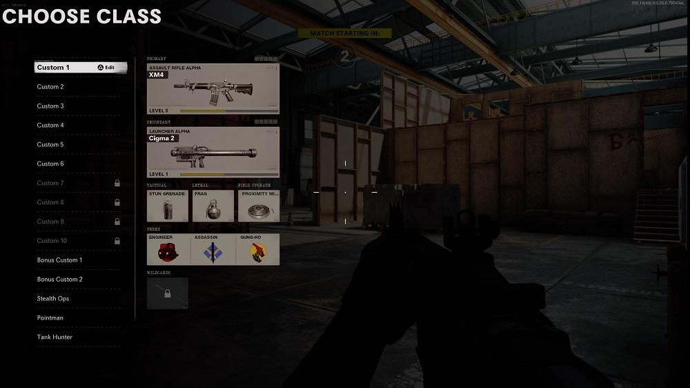 Create loadouts that allow you to adapt to both the map you're on and the team you're facing.