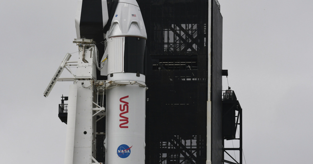 SpaceX, NASA set for first operational astronaut mission to space