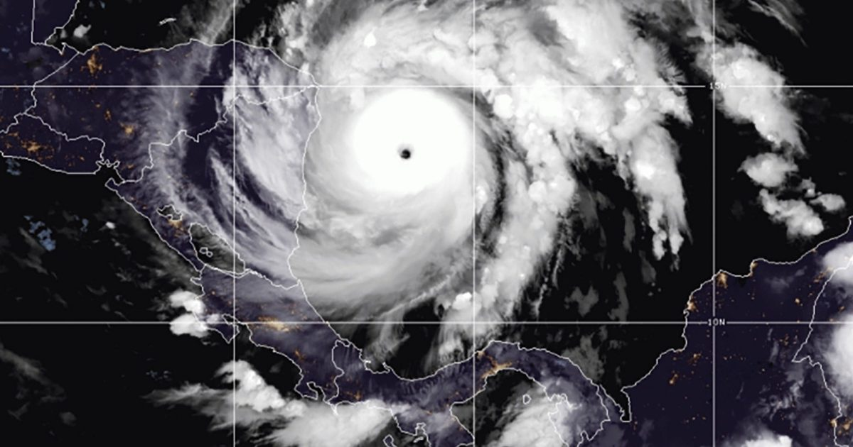 Hurricane Iota powers up in new threat to Central America