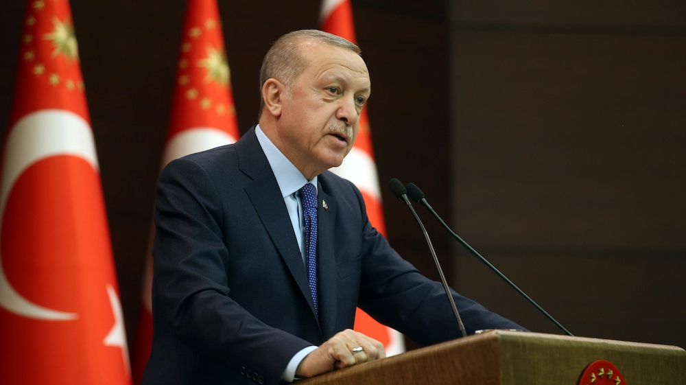 Erdogan calls on EU for dialogue, says Turkey's future in Europe
