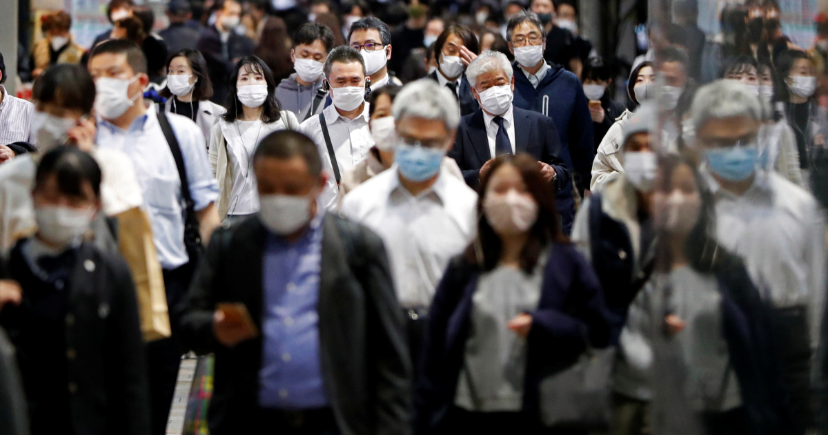 Japan's COVID-19 cases hit record high for fourth day