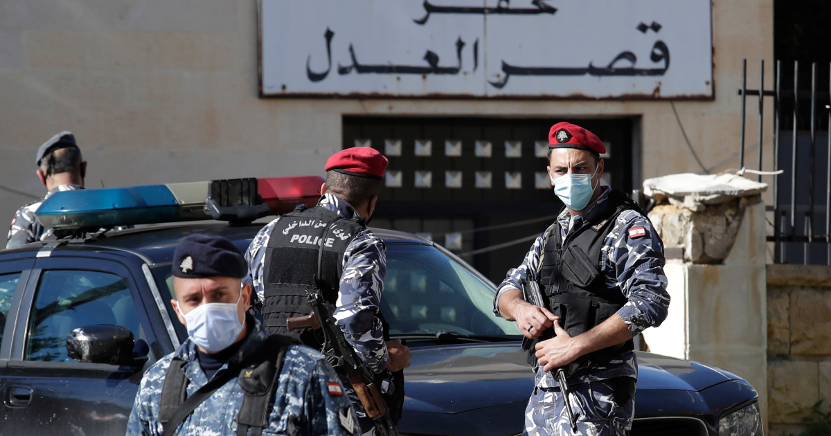 Five killed in police chase after mass prison break in Lebanon