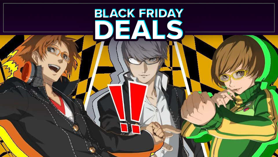 Black Friday Flash Deal: Persona 4 Golden (Steam) For Its Best Price Yet