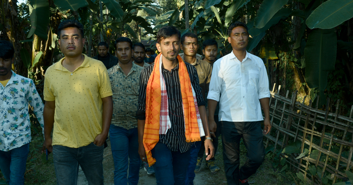 In India's Assam, a young Muslim leader fights election to unite