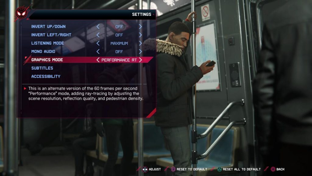 The new graphics mode can be accessed in the game's settings.