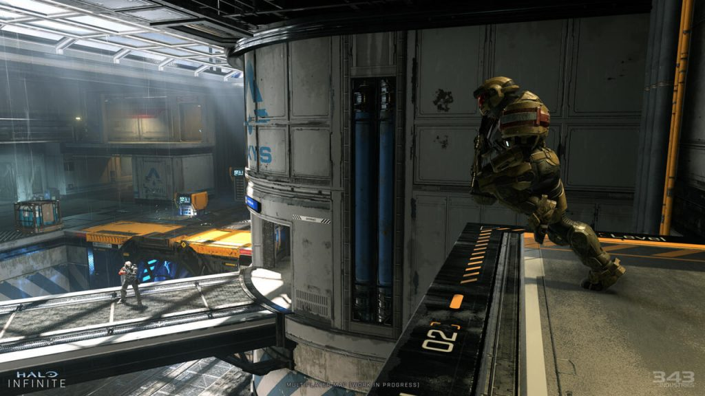 The first screenshot of Halo Infinite multiplayer