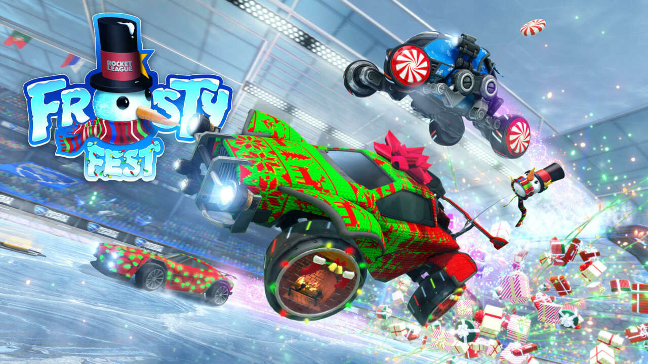 Rocket League's Annual Frosty Fest Gives The Game A Festive Makeover