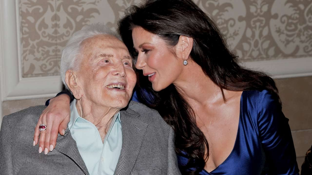 Catherine Zeta-Jones And Michael Douglas Remember Kirk Douglas On What Would Have Been His 104th Birthday!