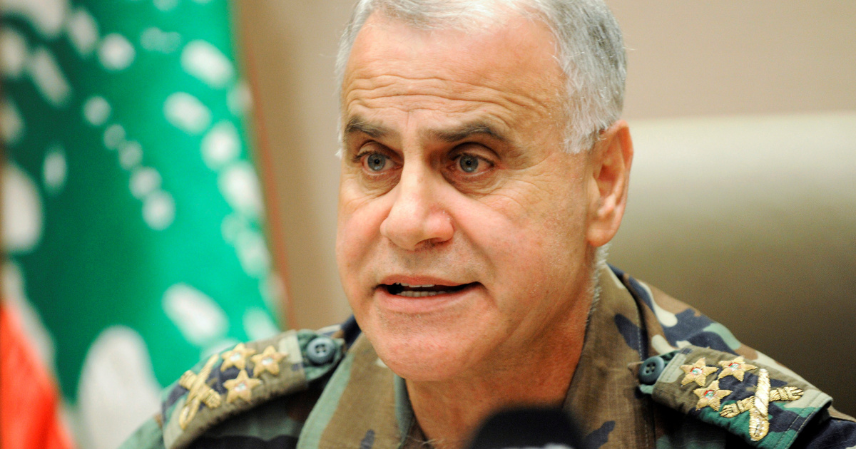 Lebanon ex-army boss, intelligence heads charged with corruption