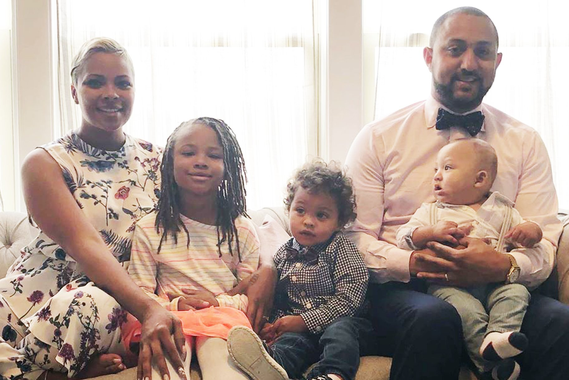 Eva Marcille Shares Gorgeous Family Photos Ahead Of The Winter Holidays – People Are Amazed By Marley's Beauty