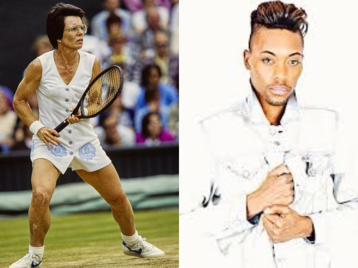 Billie Jean King Congratulates First Black, Openly Gay Tennis Player Lendale Johnson